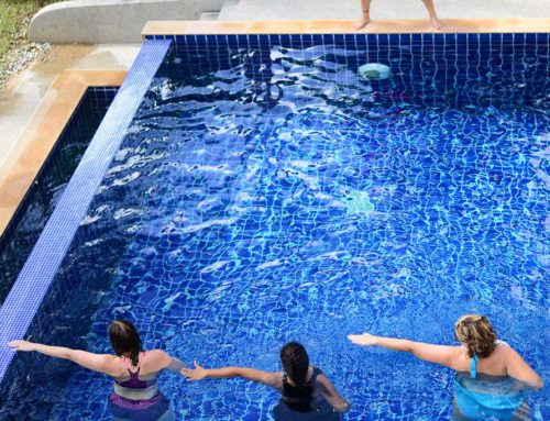 Aqua Fitness at Paleo Weight Loss Retreat